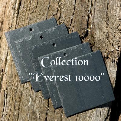 Lot de 5 etiquettes 10x10cm en ardoise