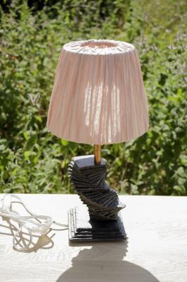 Lampe de chevet en ardoise